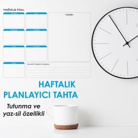 Haftalik Planlayici