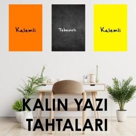 Renkli Yazi Tahtalari
